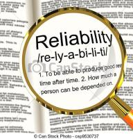 Reliability definition
